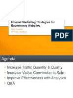 Internet Marketing Strategies for Ecommerce Websites Webinar Slides 100922220003 Phpapp01