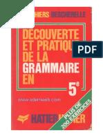 Découverte Et Pratique de La Grammaire en 5em