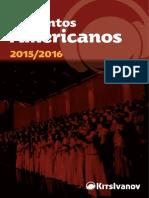 2015-2016 - Lista Conjuntos Americanos - Baixa