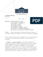 Agency Cooperation with Attorney General's Review of Intelligence Activities Relating to the 2016 Presidential Campaigns