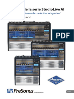 Manual Presonus Studio live 16.4.2