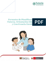 Plan de Tutoria de Aula
