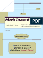 Adverb Clause of Time (Adverbial Cause of Time) - Copy.ppt