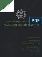 IIT BPlacementBrochure2017 18