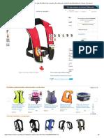 Life Jacket EYSON SM33 AmazonInflável Automático_Manual