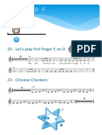 Technical builders for Violin playing