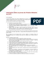 Informativo sobre provas  - alunos.pdf
