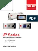 STULZ E2 Controller Operation Manual OZU0037M