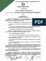 Ley de Transito Paraguay