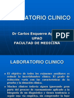 LABORATORIO CLINICO