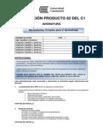 Consigna Evaluación Producto 02 Del C1