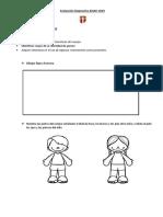 Evaluación Diagnostica Kinder 2019