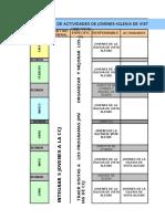 PLAN DE ACTIVIDADES DE JOVENES-IGLESIA DE VISTA ALEGRE (AADS)-2019.xls
