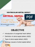 Congenital Heart Disease - ASD