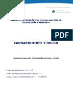 ETS Cannabis y Dolor