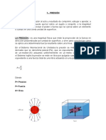 Trabajo Monografico de Presion Hidrostatica