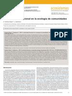 Ecologia Funcional de Comunidades