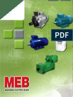 A MEB Catalogo General Motores Trifasicos