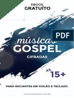 As 15+ musicas gospel cifradas para iniciantes