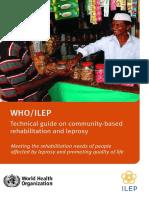 Livro Leprosy Guia