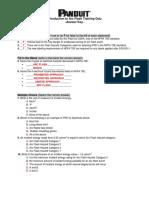 Panduit LOTO Training Quiz With Answers