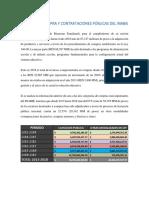 Memorias Compras 2012-2018