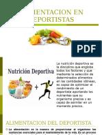Alimentacion en Deportistas
