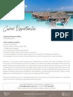 Job Maldives 21 May 19