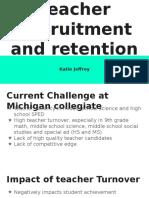 teacher recruitment and retention