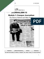 Journalism Module 1