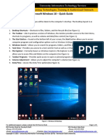 0740 Microsoft Windows 10 Quick Guide