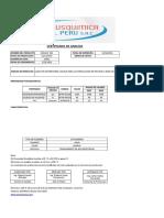 Certificado de Analisis Indulat 204