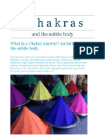 Chakras and the Subtle Body