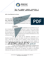 Interpone Acción de Habeas Corpus Colectivo y Preventivo