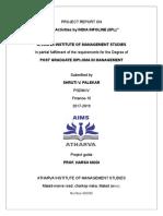 PROJECT REPORT ON CSR (1).doc