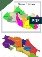 Mapas de Los Paises de Centro America