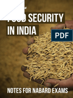 Food Security India