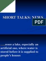 1. Vocab. for Short Talks News (1)