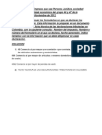 FORMATO DECLARACIONES TRIBUTARIAS
