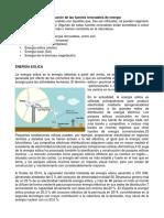 Identificación de Las Fuentes Renovables de Energía