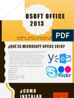 COMO INSTALAR PAQUETE OFFICE 2013 - WINDOWS