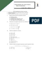 Ecuaciones Fraccionarias de Primer Grado 2