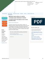 Métodos Para Aliviar El Estrés_ Consejos Para Dominar El Estrés - Mayo Clinic