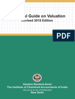 Technical Guide on Valuation ICAI
