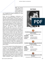 Iósif Stalin - Wikipedia, La Enciclopedia Libre