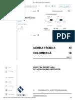 NTC 1807 Levadura Para Panificacion.pdf