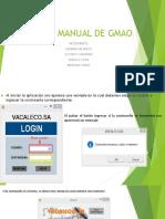 Manual de Gmao