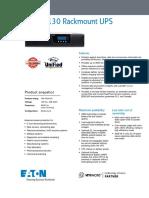 EATON PW9130 1-3kva - Hoja de Datos