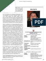 Alan García - Wikipedia, La Enciclopedia Libre