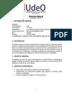 1 Derecho Laboral Programa